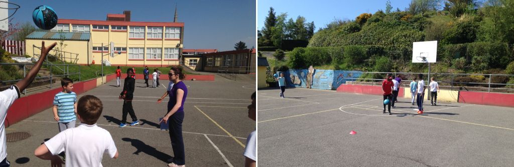 Basketball coaching after school